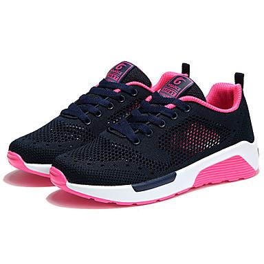 Plat Rose Confort Gris Femme Talon Chaussures été 06694374 clair Rouge d'Athlétisme Chaussures Tulle Printemps w7A8I