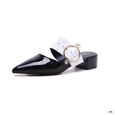 Bottier Chair Nappa Femme 06680385 Eté Cuir Sabot Mules Confort Noir amp; Chaussures Talon AqUgnPz