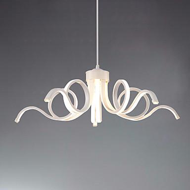 Ecolight™ خطي نجفات ضوء محيط طلاء ملون معدن LED 110-120V / 220-240V أبيض دافئ / أبيض يشمل لمبات