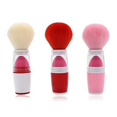 1-Dozen Pędzle do makijażu Profesjonalny Pędzelek do różu Włosie synetyczne Pełne pokrycie Plastik