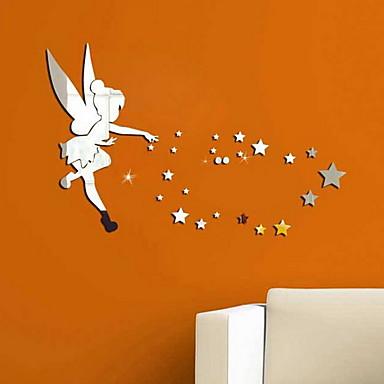 Dekoracyjne naklejki ścienne - Naklejki ścienne: lustro Gwiazdki / Wróżki Living Room / Sypialnia
