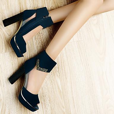 Bottier amp; Femme Talon Basique Chaussures Tulle Gladiateur Noir Eté Escarpin Automne Evénement Bleu 06650055 Sandales Soirée OrSOwFzq8