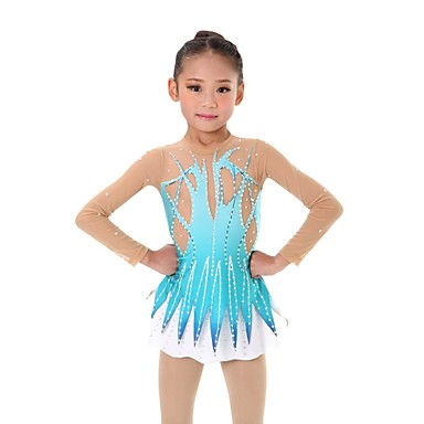 d2eb218ea Collant Para Ginástica Rítmica   Collants Para Ginástica Artística Mulheres    Para Meninas Collant Azul Céu