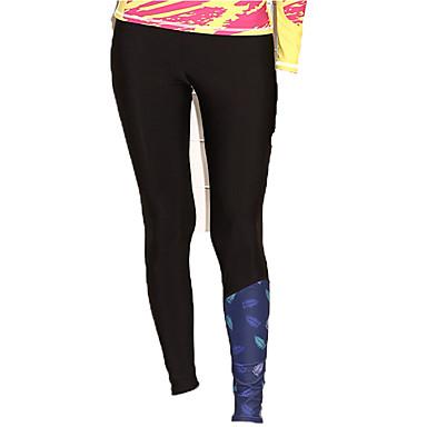 SBART Mulheres Calça Legging de Mergulho SPF50, Proteção Solar UV, Secagem Rápida Roupa de Banho Roupa de Praia Calças Natação / Mergulho