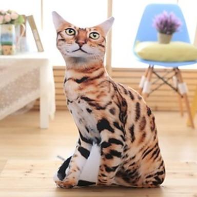1 buc Catifea Pernă de Corp, 3D Print Animal