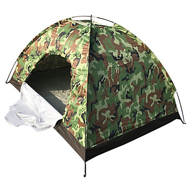 4 person Poled Dome Camping Tent Outdoor Keep Warm for Camping / Hiking Other Material 200*140*110 cm