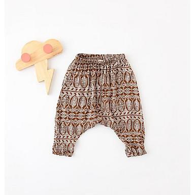 Bebelus Unisex De Bază Imprimeu Pantaloni / Copil