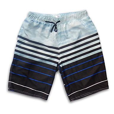 SBART Bărbați Pantaloni Scurți de Înot Protecție UV la soare, Anti-Iradiere, Purtabil Elastan / Terilenă Fără manșon Costume de Baie Costum de plajă Pantaloni Scurti Tartan / Carouri Surfing / Volei
