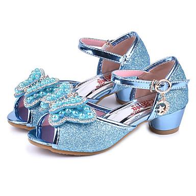 f125959c7c1bfc Girls  Shoes Sparkling Glitter Spring   Summer Comfort   Novelty   Flower  Girl Shoes Sandals
