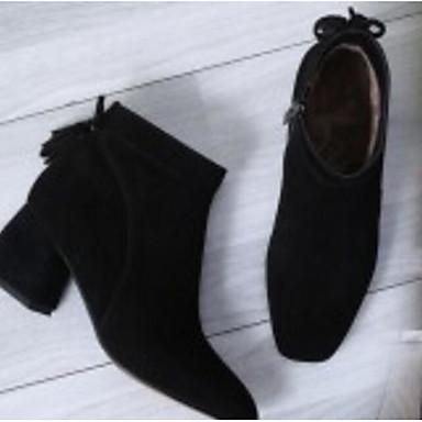 la Talon Bottier Daim Noir à Bottes Femme Hiver Chameau Gris Mode Confort 06770308 Bottes Chaussures S5gqzY