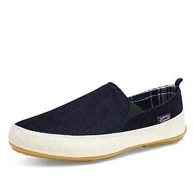 Bărbați Pantofi de confort Pânză Vară Mocasini & Balerini Rosu / Verde / Albastru / În aer liber / Birou și carieră