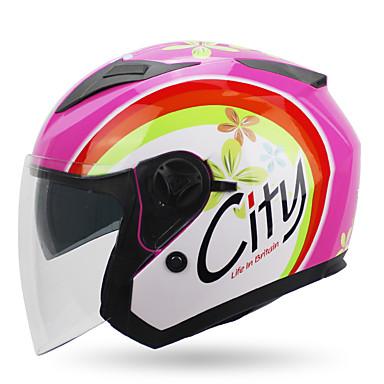 YOHE YH-868 Cască Deschisă Adulți Unisex Motociclete Casca Respirabil / Deodorant / Anti-sudoare