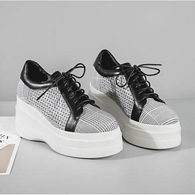 Printemps Nappa Creepers Marron Basket Femme 06770770 Noir Confort été Chaussures Cuir Bout fermé gxqwAEUtA
