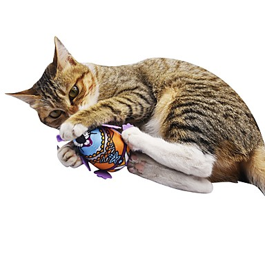 Iarba Mâței / Jucării pluș / Jucării chițcăitoare Compatibil animale companie / Animale / Țipăt ascuțit Flanel / Pluș Pentru Pisici /