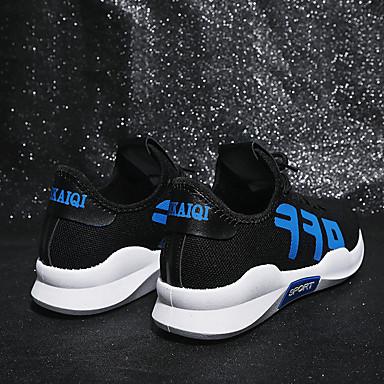 Chaussures Plat Noir Tricot Chaussures Talon Femme Bout été Slogan Printemps Orange Bleu Marche Confort rond 06751714 d'Athlétisme z1Xz4q7