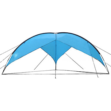 Sheng yuan 7 person Shelter & Tarp Poled Dome Camping Tent  Outdoor Waterproof  for Canvas 480*480*200 cm