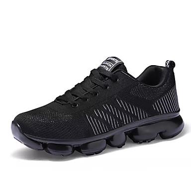 Men's Mesh Running Fall Comfort Athletic Shoes Running Mesh Shoes Black / Black / Red / Black / Blue 38d33f