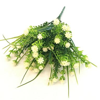Flori artificiale 1 ramură Single Rustic Respirație Copil Față de masă flori