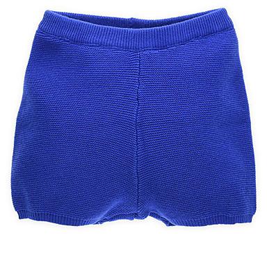 povoljno Hlačice za Dječaci bebe-Dijete Dječaci Osnovni Dnevno Jednobojni Kratke hlače Plava / Dijete koje je tek prohodalo