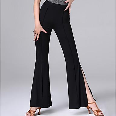 Dans Latin Pantaloni Pentru femei Performanță Modal Ruching / Împărțit Natural Pantaloni