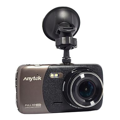 tanie Samochód Elektronika-Anytek B50 1080P Night Vision Rejestrator samochodowy 170 stopni Szeroki kąt 4 in Dash Cam z Czujnik przyspieszenia / ADAS / WDR 2 diody LED podczerwieni Rejestrator samochodowy