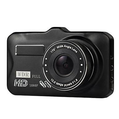 billige Bil-DVR-3 tommers bil dvrtft lcd hd 1080p rotert 170 graders ultra vidvinkel dobbelt linse dash kamera kjøretøy digital videoopptaker videokamera
