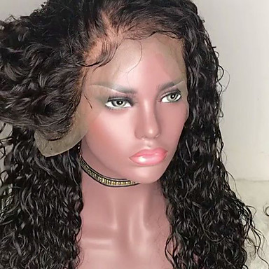 billige Blondeparykker med menneskehår-Ekte hår Helblonde Parykk Bobfrisyre stil Brasiliansk hår Rett Svart Parykk 130% Hair Tetthet med baby hår Naturlig Svart Dame Kort Blondeparykker med menneskehår MEODI