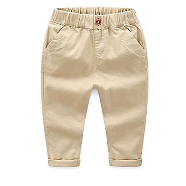 5cde14e9741 Παιδιά Αγορίστικα Βασικό Καθημερινά Μονόχρωμο Βαμβάκι Παντελόνι Βαθυγάλαζο