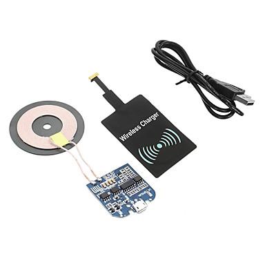 Cwxuan Trådløs Lader USB-lader Us Plugg / Eu Plugg / UK Plug 1 USB-port 1 A DC 5V til / AU Plug