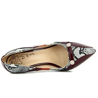 Femme Marron Evénement 06764602 Soirée Talon Chaussures Chaussures Talons Confort fermé à Polyuréthane Eté amp; Aiguille Bout rfr4xwPSq6