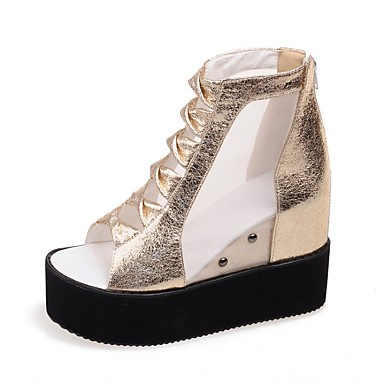 Or Creepers Violet Sandales 06833538 Confort Polyuréthane Chaussures Printemps Femme été Argent xPZ0wqTOn