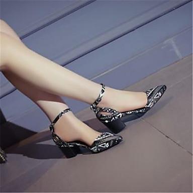 Jane en 06782240 Printemps Bottier Mary pointu Femme Sandales ciel Cuir de Croûte Chaussures Noir été Talon Arc Bout 0wxxTRFAZq