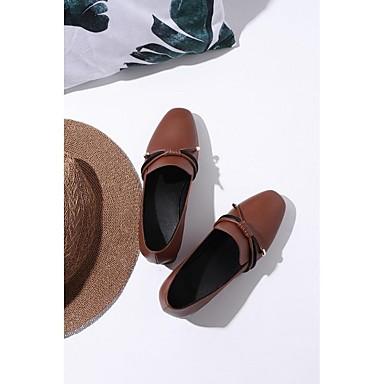 et Bottier Confort été Talon Printemps 06792391 Cuir D6148 Marron Mocassins Nappa Chaussons Femme Chaussures Noir ZwUqpp