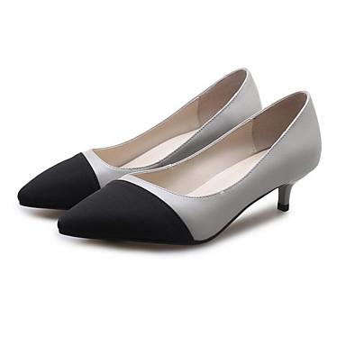 Chaussures Talon clair Femme Evénement Confort 06833222 Jane Beige Aiguille Chaussures Printemps Cuir Gris Mary Talons Soirée à Nappa amp; FHqF0A