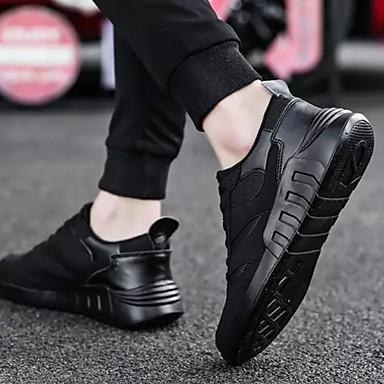 homme / femme chaussures confort · hommes (polyuréthanne) - printemps bcbg, et automne occasionnel / bcbg, printemps baskets blanc / noir · business 1130a3