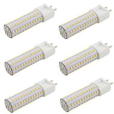 billige Elpærer-9w g12 led corn lys 108 leds smd 2835 varm hvit kald hvit AC 85-265v 110v 220v (6 stk)