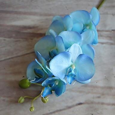 billige Kunstige blomster-Kunstige blomster 1 Gren Klassisk Rustikk Orkideer Gulvblomst