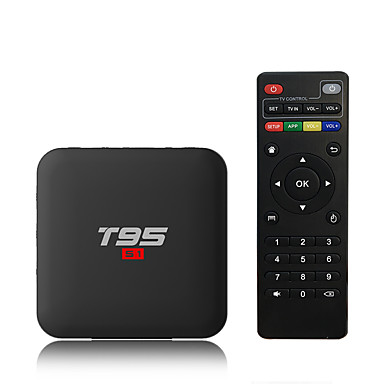 PULIERDE T95S1-1 TV Box Android 7.1 TV Box Amlogic S905W 2GB Baran 16GB ROM 4-rdzeniowy Nowy design