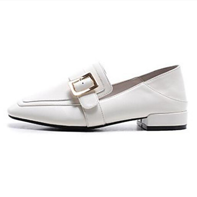 Chaussons Blanc Confort 06799656 Bout fermé Femme Plat et Chaussures Eté Cuir D6148 Noir Mocassins Nappa Talon wITA0Oq