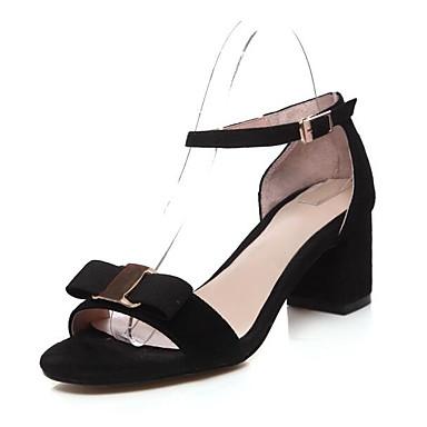 Talon mouton de Sandales 06828007 Confort Noir Printemps Femme Peau Chaussures Bottier Vert 1Ux0F0