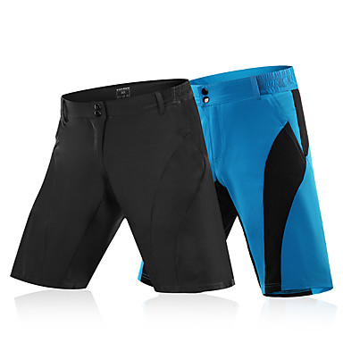 WOSAWE Men's Cycling Pants / Cycling Shorts Bike MTB Shorts / Bottoms Polyester Black / Blue / Black Bike Wear