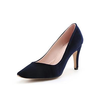 Printemps Confort à Talons royal 06829553 Femme Aiguille Bleu Chaussures Chaussures Vert Vin Talon été Daim Véronèse wppEIY