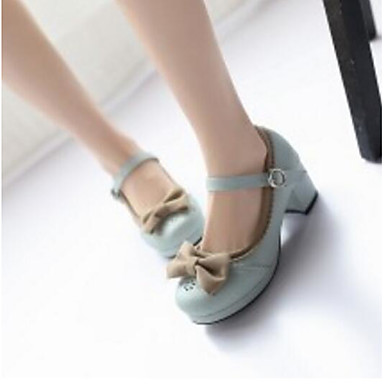 Escarpin Talon Polyuréthane Chaussures Amande royal Printemps Rose Talons à Basique Chaussures 06791497 Confort Bottier Bleu Femme IqAgww
