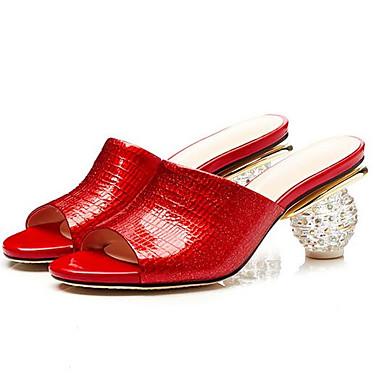 Nappa Sandales Vert Femme Plat 06833398 Printemps Rouge Chaussures Confort Amande Talon Cuir nxnTEzqX
