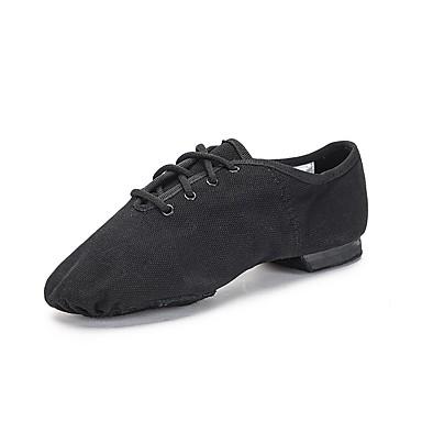 Da Ragazza Scarpe Per Danza Jazz - Scarpe Per Danza Moderna Di Corda Ballerine - Sneaker Piatto Scarpe Da Ballo Nero #06809558