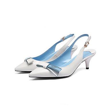 Blanc Femme Confort Aiguille de à 06839831 Eté Chaussures Chaussures Peau mouton Talons Noir Talon BqHRxwBPr