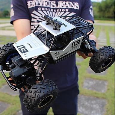 billige Droner og radiostyrte enheter-Radiostyrt Bil 6255A Hugefoot Monster Truck 4 Kanaler 2.4G Buggy (Off- Road) / Fjellklatring Bil / Monster Truck Titanfoot 1:16 Børsteløs Elektrisk 20 km/h Vann / støv / støtsikker / Uten kamera