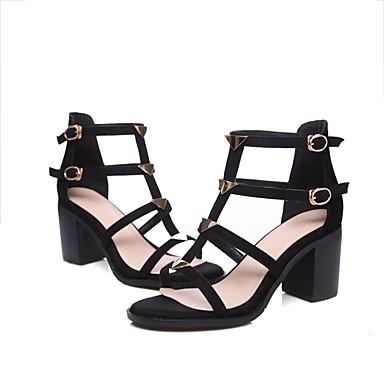 Femme Confort Sandales Noir Cuir 06840292 Bottier été Nappa Talon Printemps Chaussures YnPPXrB1