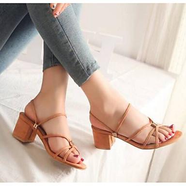 Noir Beige Jaune Femme Eté Confort Sandales Bottier Talon 06791324 Polyuréthane Chaussures qafwqH0