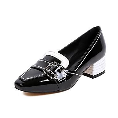 Confort Bleu Noir Block Printemps Femme Chaussures à Nappa Talons été 06832997 Chaussures Heel Cuir q7wwRZxXS